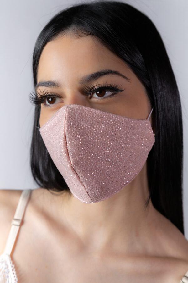 Máscara branca renda (ESGOTADA) - Atelier Fernanda Baião Alta Costura, Estilista Ubá e Juiz de