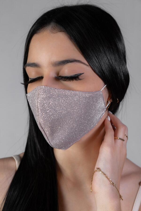Máscara preta lisa - Atelier Fernanda Baião Alta Costura, Estilista Ubá e Juiz de Fora
