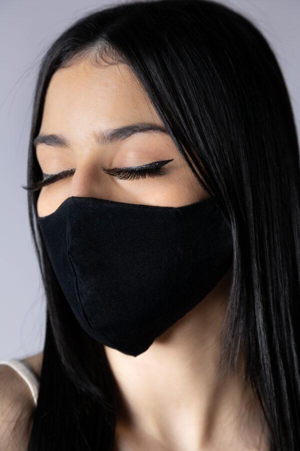 Máscara branca lese - Atelier Fernanda Baião Alta Costura, Estilista Ubá e Juiz de Fora